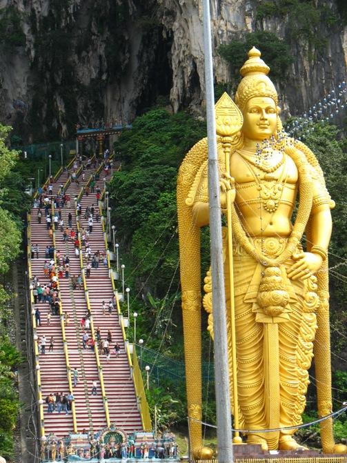 Tappa a Kuala Lumpur: le Batu Caves