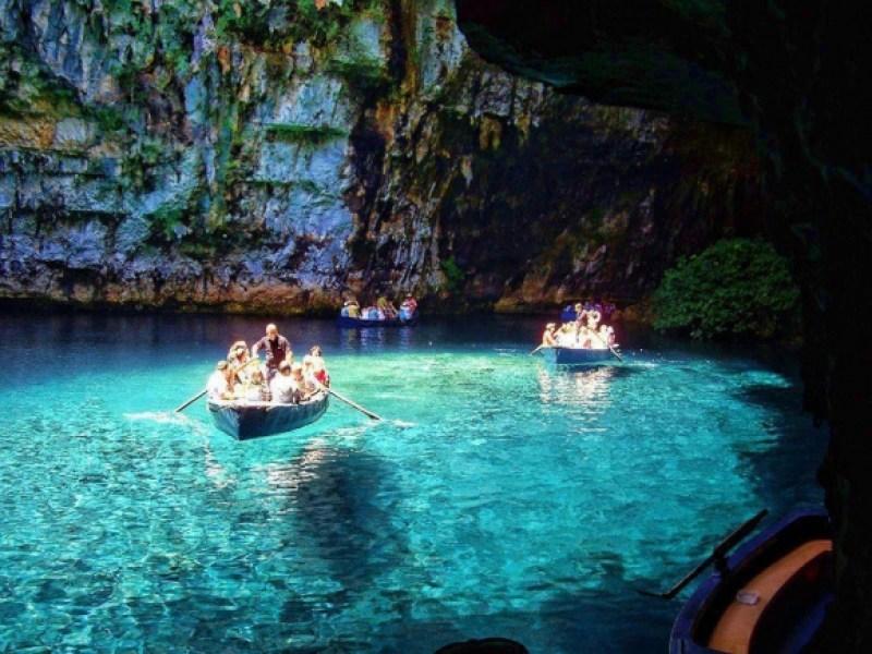 Cefalonia: grotte di melissani