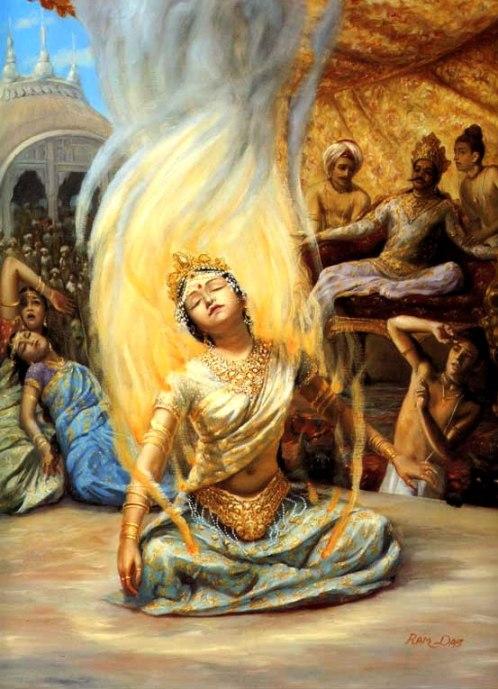 Viaggi zaino in spalla: il rito del Sati