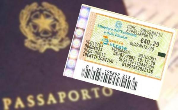 Rinnovo passaporto