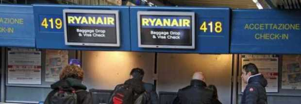Novità Ryan Air