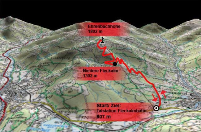 Cicloturismo: Il Fleckalm Trail