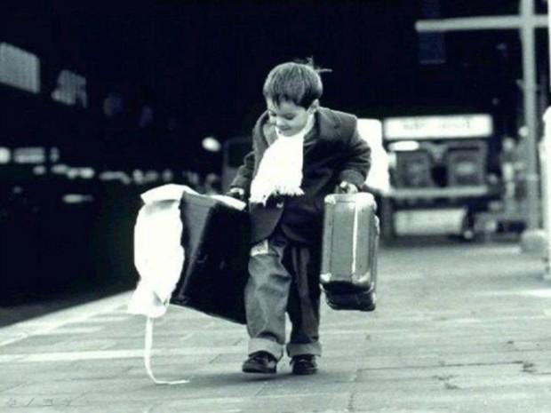 Il gusto di viaggiare con gli occhi di un bambino