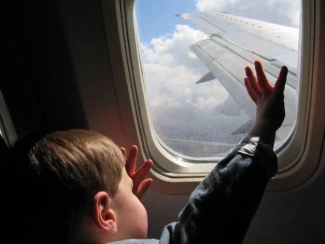 bambini in viaggio