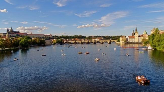 Estate a Praga
