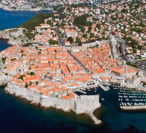 Dubrovnik from sky