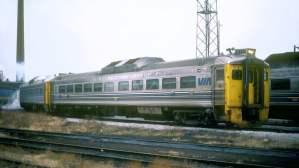 VIA Rail DRC1 6110 au Spadina à Toronto (Ontario)