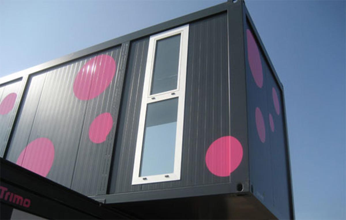 Slovenian Conhouse A Modern And Compact Prefab Home Windows