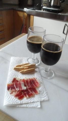 Jamón Ibérico de Bellota con Cerveza Domus