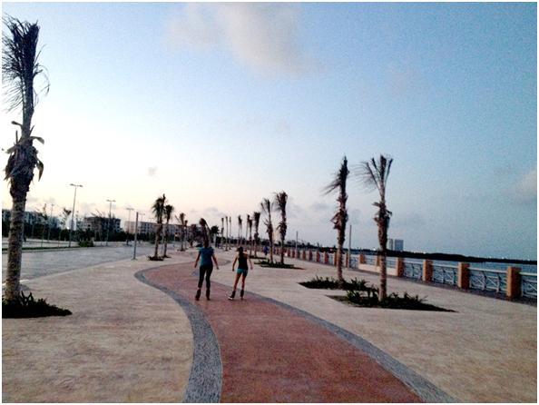 El Malecn de Cancn  Viajar  Que Hacer en Cancun y