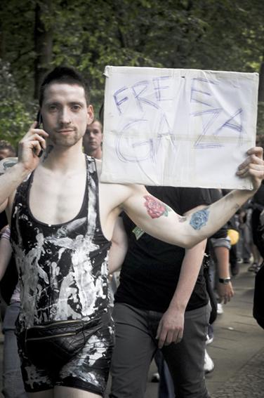 Gay parade_Free Gazaweb