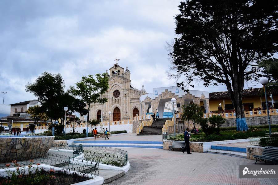 Iglesia antigua de Saraguro.