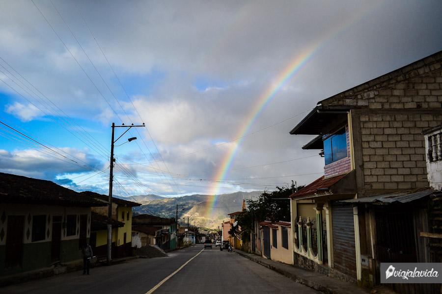 Y de repente un arcoíris.