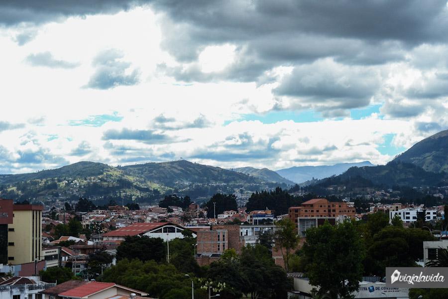 Cuenca desde las terrazas.