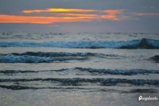 Escalera de olas.