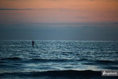 Andando sobre el agua.