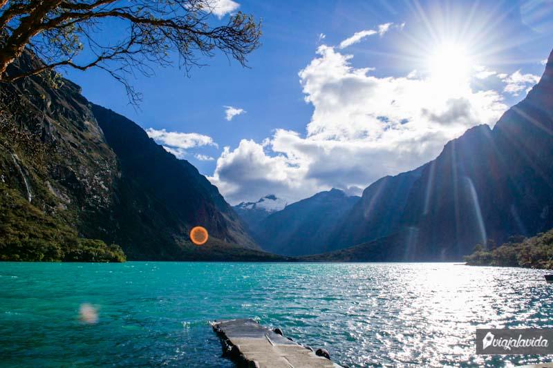Paisaje de la Laguna de Chinancocha