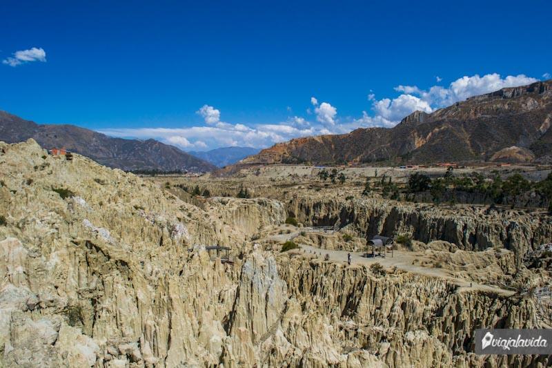 Valle de La Luna en La Paz, Bolivia.