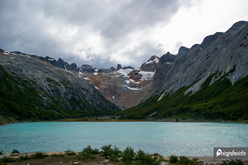 Paisaje de la Laguna Esmeralda.