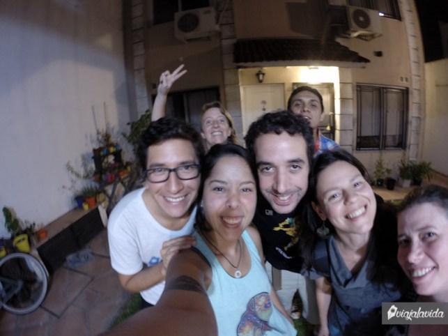 Reunión de viajeros en Buenos Aires.