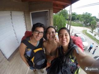 Aisha nos ha recibido en dos ocasiones. La primera fue en La Entrada (Ecuador) y luego en Córdoba. En ambas la pasamos muy bien.