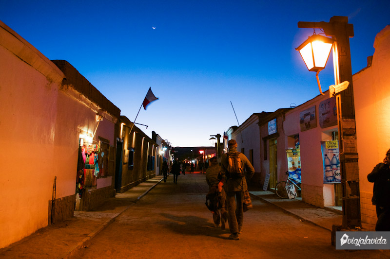 Recorriendo San Pedro de Atacama.