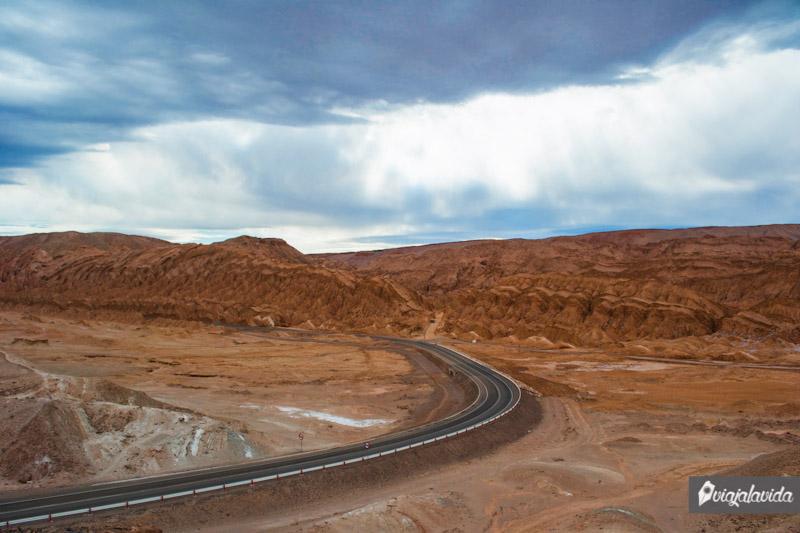 Cordillera de la Sal en San Pedro de Atacama.