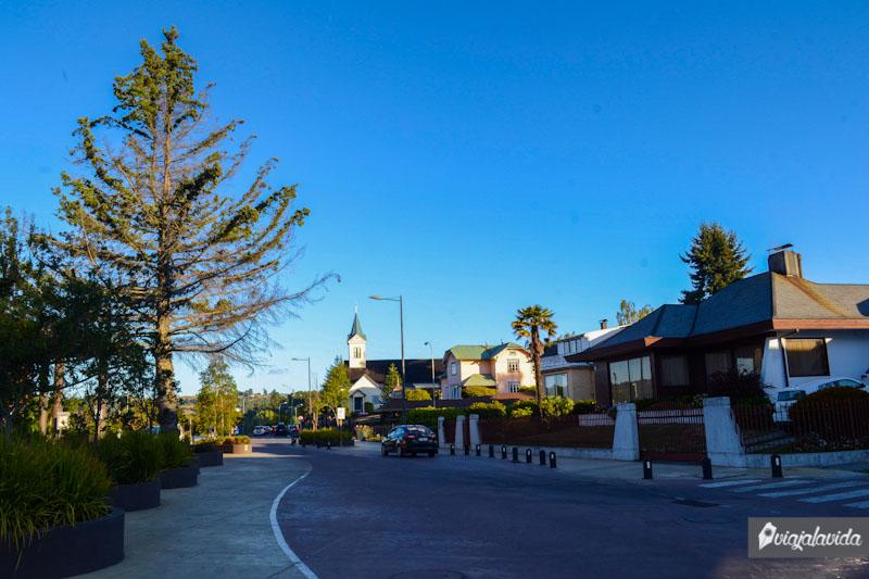 Calles hermosas en Frutillar.