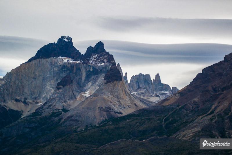 Montañas en Torres del Paine.