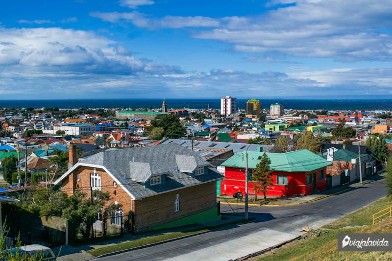 Casas de Punta Arenas, Chile.