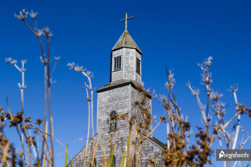 Achao y su iglesia. Chiloé.