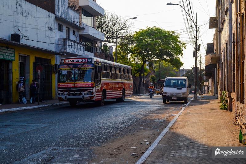 Calles de Asunción, Paraguay.