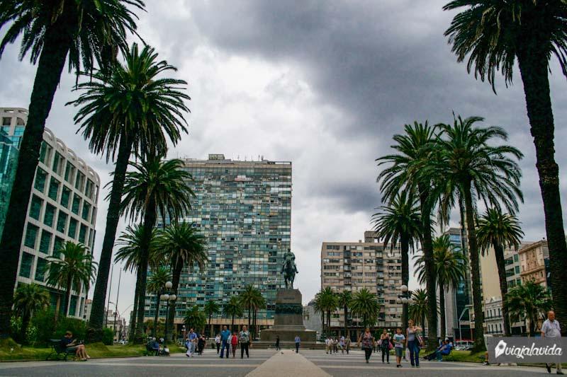Plazas de Montevideo.