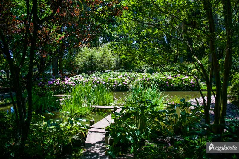 Jardín Japonés en Montevideo.