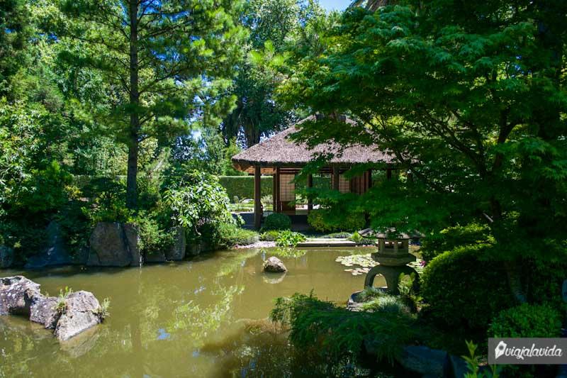 Recorrido en el Jardín Japonés.
