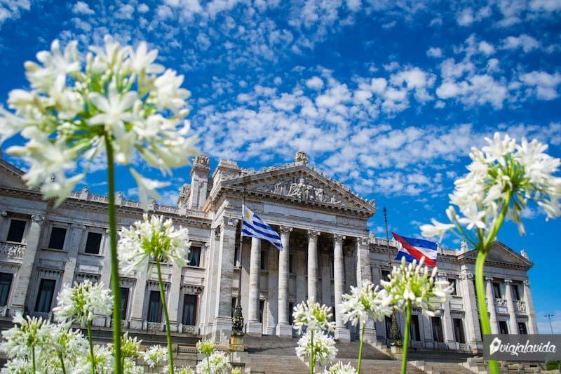 Palacio Legislativo de Montevideo.
