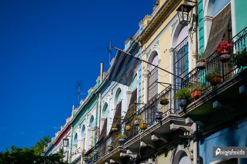 Calle Reus en Montevideo.