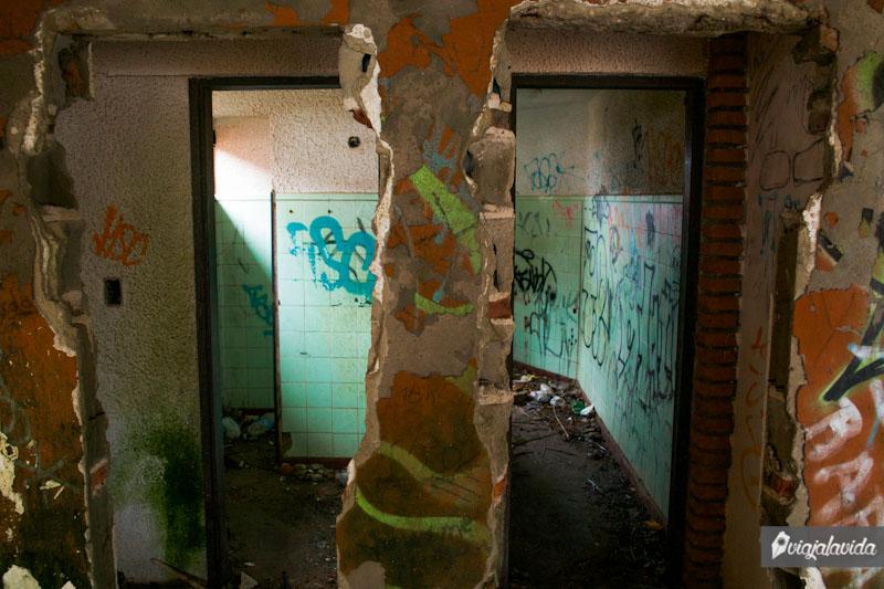 Habitaciones abandonadas.