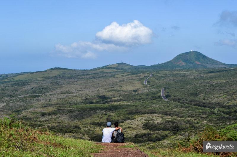 En la montaña, Galápagos.