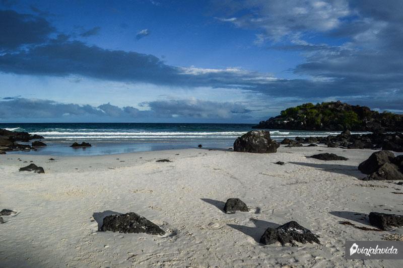 Playa Puerto Chino, San Cristóbal.