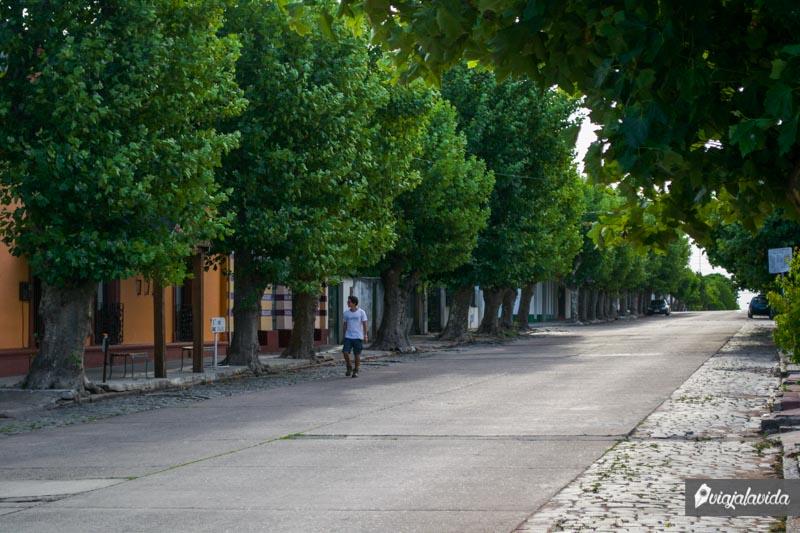 Caminando por los pueblos de Uruguay.