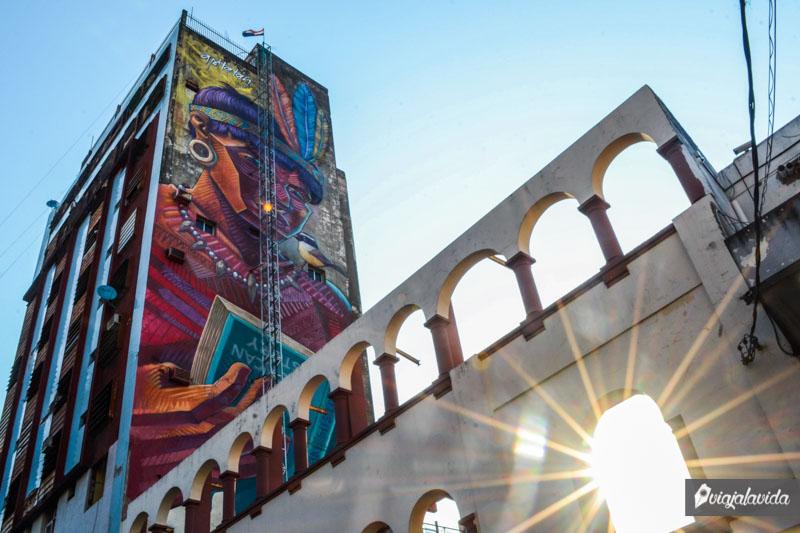Arte de Apitatán en Asunción.