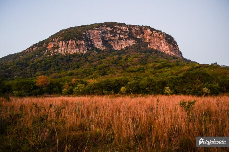 Cerro Santo Tomás en Paraguay.