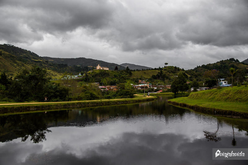 Lago Chimán en Silvia.