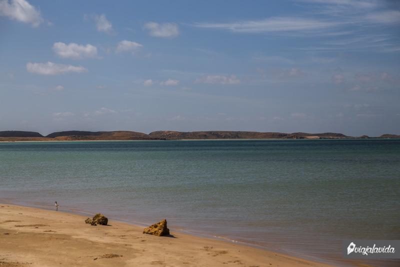Bahía Hondita en la Alta Guajira.