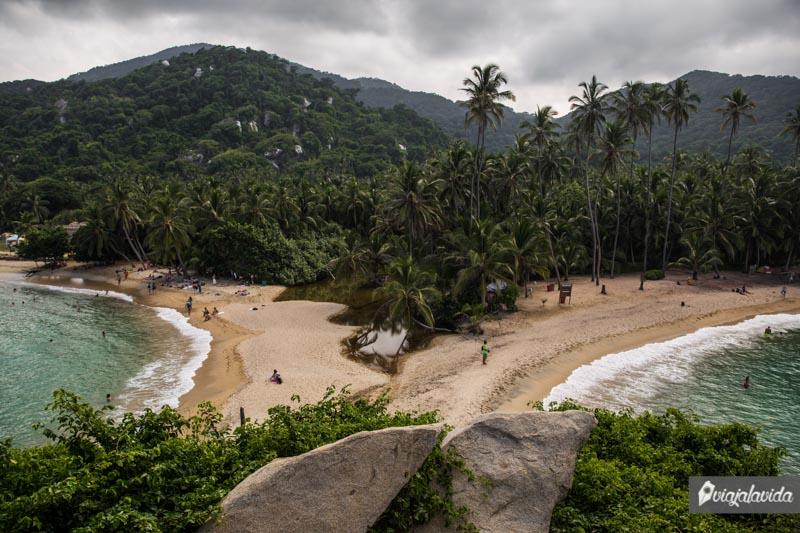 Playas del Parque Tayrona.