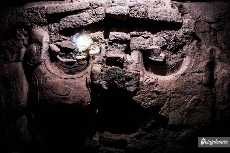 Restos Mayas en Honduras.
