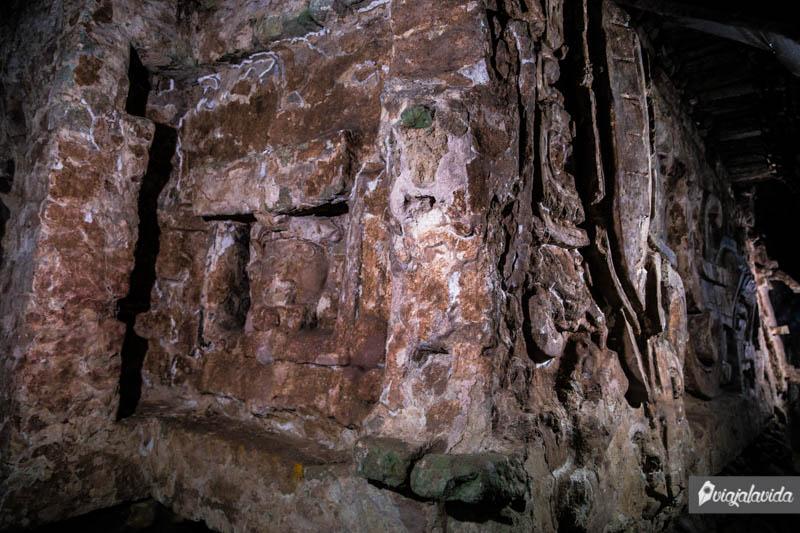 Mayas en Ruinas de Copán.
