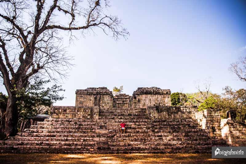 Ruinas Mayas en Honduras.