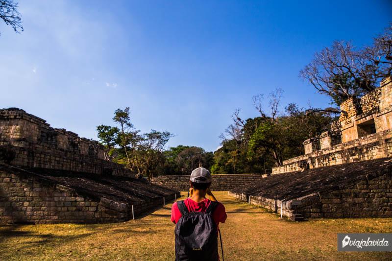 Juego de pelota Maya, Honduras.